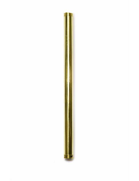 Buis, 20 cm, M13, Messing, Gepolijst
