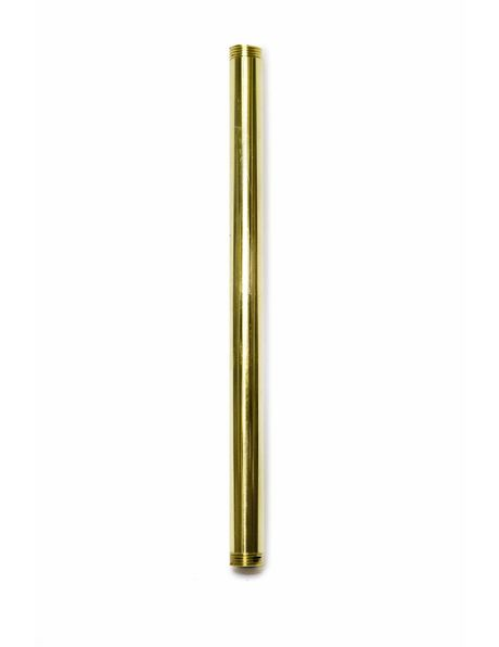 Tube, 20.0 cm / 7.9 inch , M13, Brass, Polished