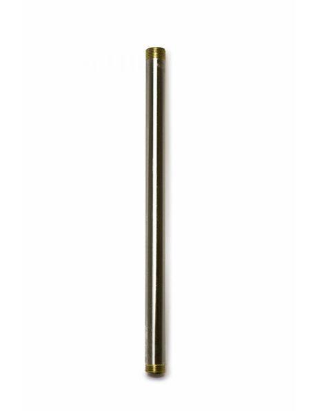 Buis, 20 cm, M13, Nikkel Mat
