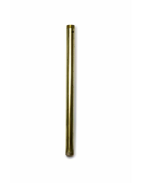 Tube, 20 cm / 7.87 inch, M13, unpolished brass