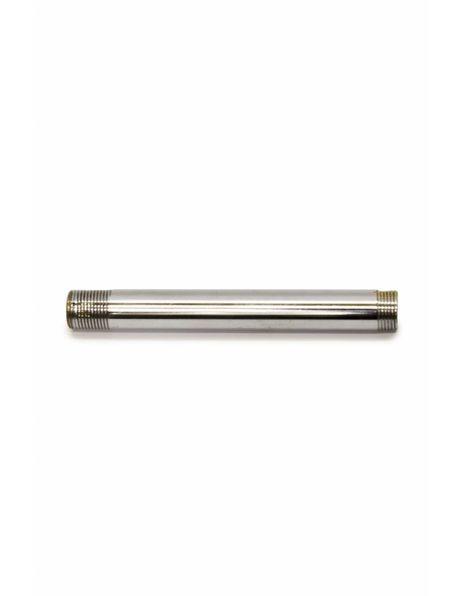 Tube, 10 cm / 3.94 inch, M13, Nickel Polished