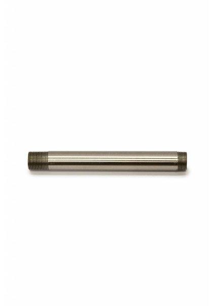 Pipe, 10 cm / 3.9 inch, M13, Nickel Matt