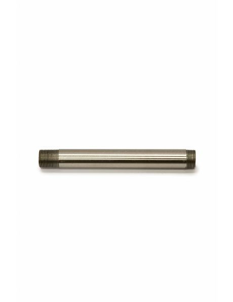 Tube, 10 cm / 3.9 inch, M13, Nickel Matt
