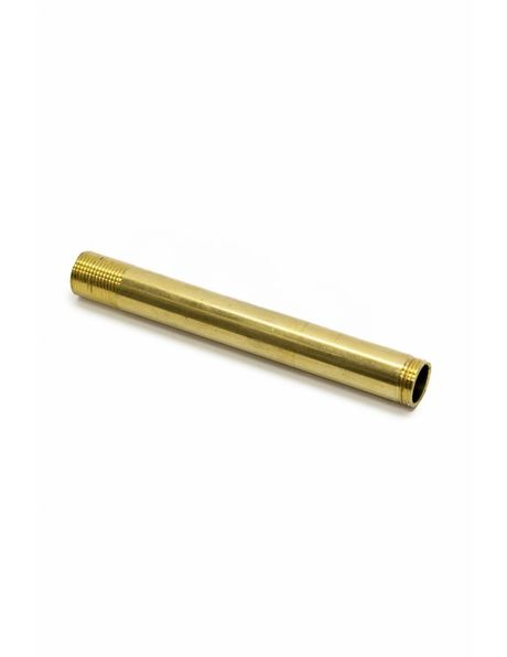 Tube, 10 cm / 3.9 inch, M13, Unpolished Brass