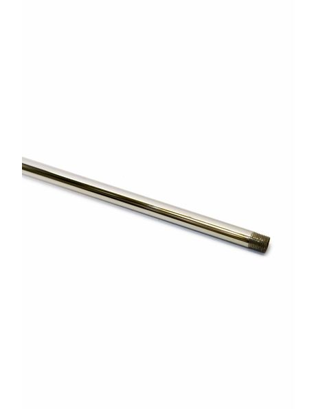 Tube, length: 40 cm / 15.75 inch, polished brass