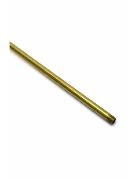 Stang, 30 cm, M10, Messing Ruw