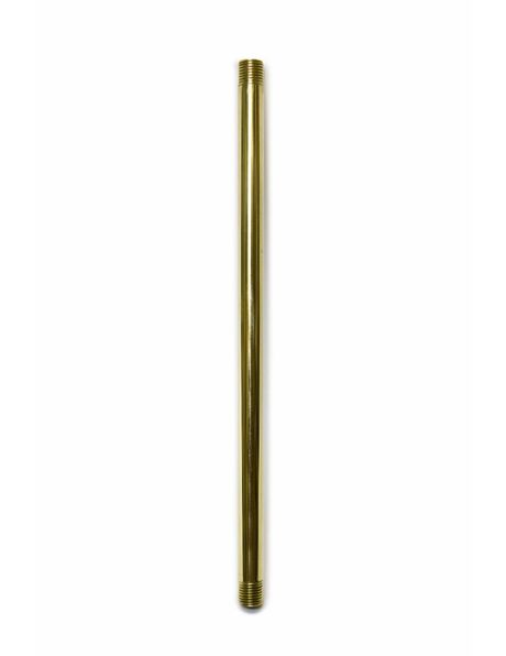 Tube / Bar, 20 cm / 7.9 inch, Polished Brass
