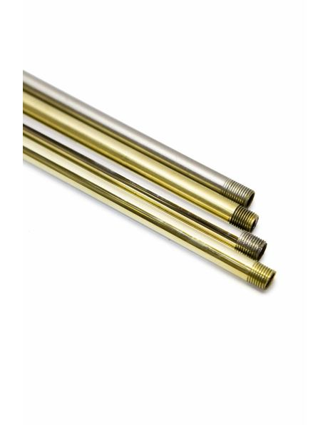 Tube, 20 cm / 7.9 Inch, M10, Brass Unpolished
