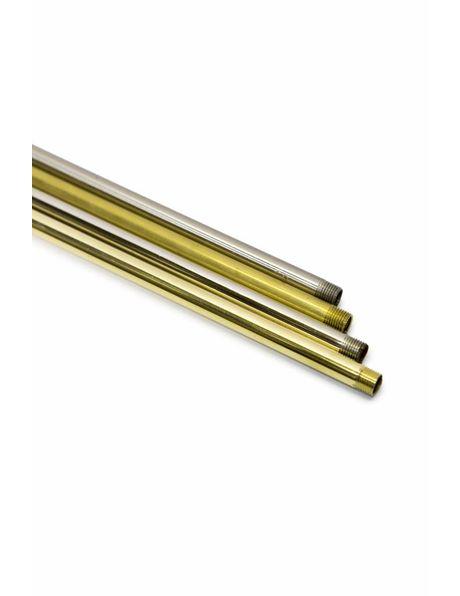 Tube, 30 cm / 11.8 inch, M10, Polished Nickel