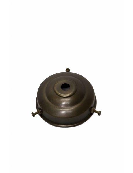 Kaphouder, 6 cm, gepatineerd koper