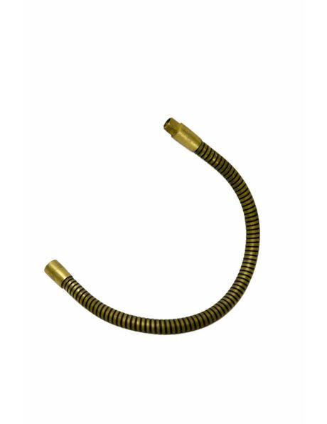 Buigbare stang, koperkleur, 30cm lang, M10