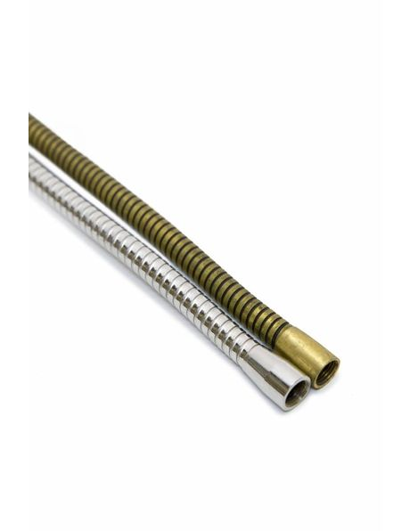 Bendable Tube, brass coloured, length: 30 cm / 11.8 inch, M10
