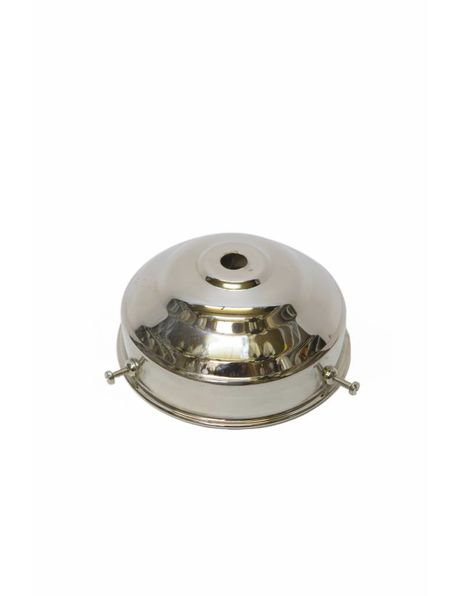 Lamp shade holder, grip: 8 cm / 3.15 inch, chrome