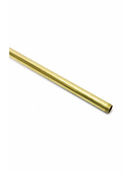 Tube, Unpolished Brass, 40 cm / 15.8 inch, M13