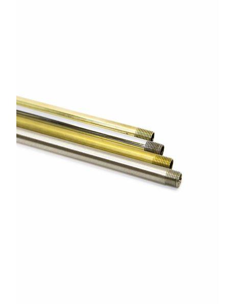 Buis, Messing Gepolijst, 50 cm, M10
