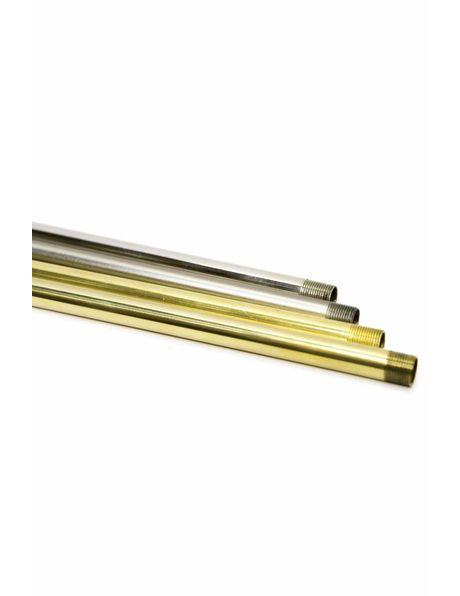 Pipe, M13, 50 cm / 19.7 inch, Shiny Brass
