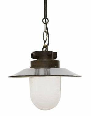 Emaille Lampen
