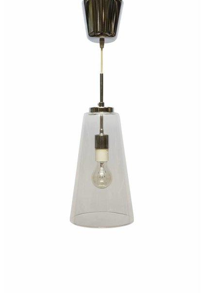 Glazen Hanglamp, Helder Glazen Kelk