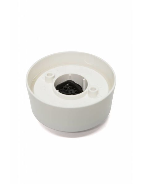 Ceiling Luminaire, 100 watt, screw ring, white plastic