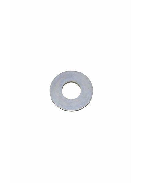 Carrosseriering, zilverkleurig metaal, 3 cm diameter, m13 gat in midden