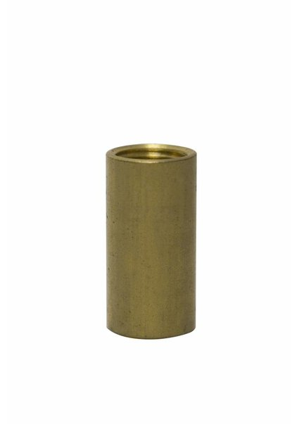 Pipe Reducer from M10 to M8, Brass