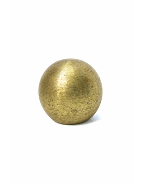 Sierbol, messing 8 mm diameter, intern M4 x 1