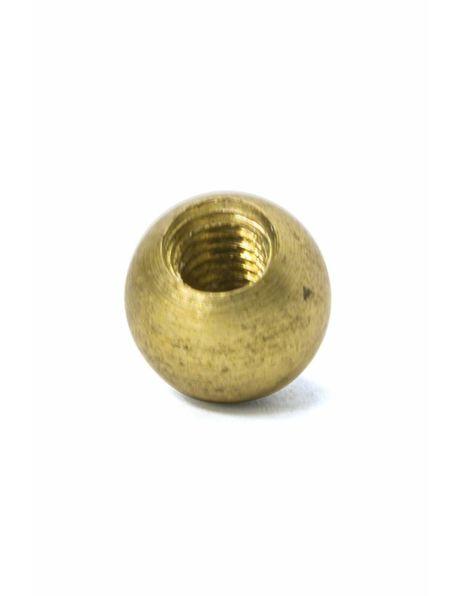 Decorative Sphere, Brass, 8 mm / 0.3 inch, M4x1