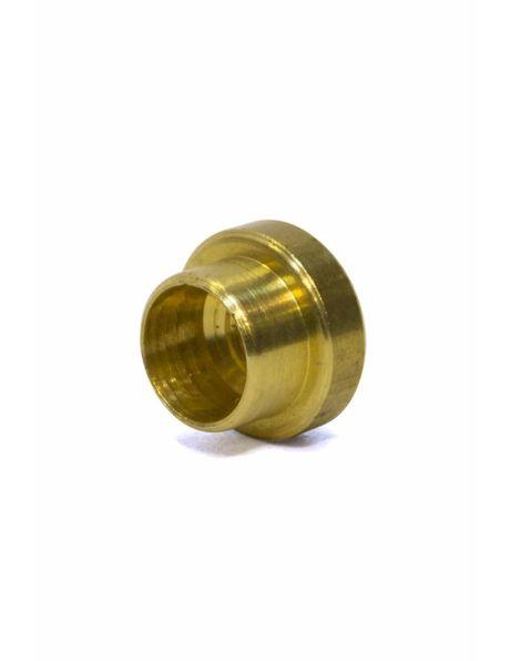 M3x1 nipple, brass, gold-colored