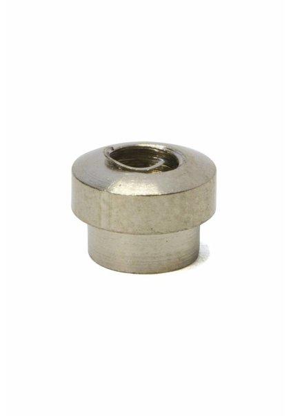 Nippel, m4x1, mat zilver