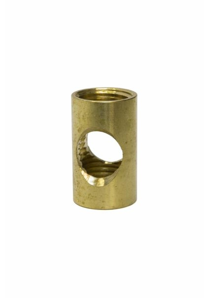 Pipe Connector, Brass, M10, Side Entry