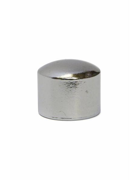 Afdekdopje, zilverkleur, intern: M10 x 1