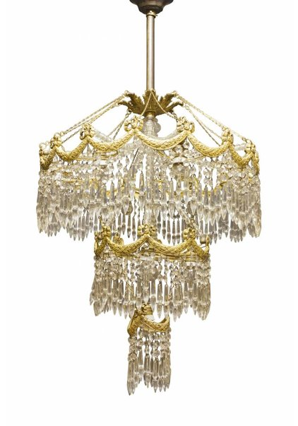 Chandelier, Large Pendant Lamp from the 1900s