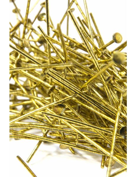 Chandelier parts, gold chandelier pins, length 3.5 cm / 1.4 inch