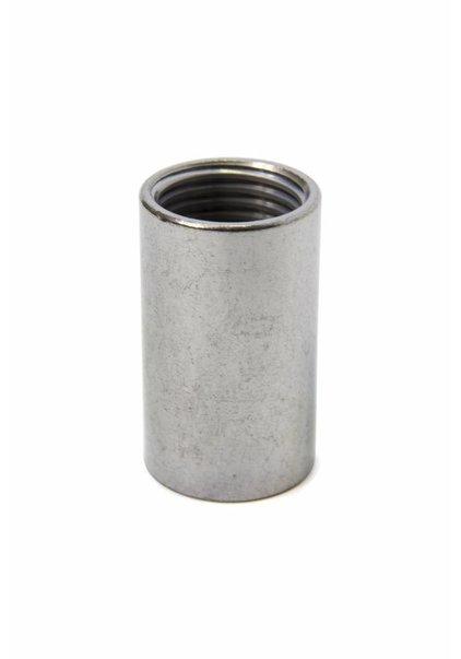 Verbinding, M10x1, zilverkleur