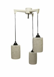 Vintage Hanglamp, Cascade van Drie