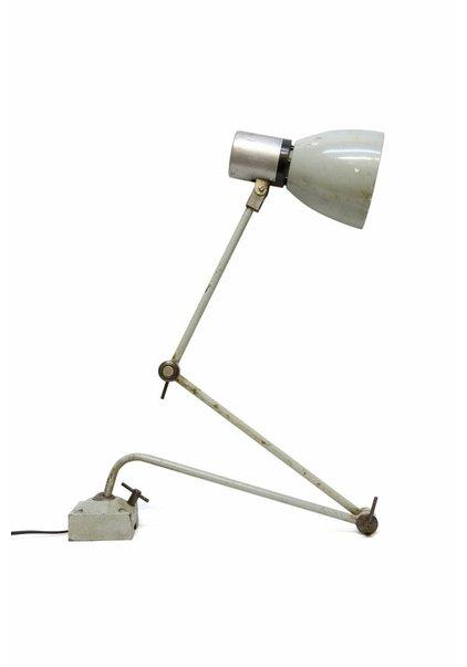 Desk Lamp, Metal, Sleek, Screw in Table
