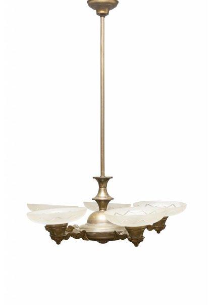 Antieke Hanglamp, Omhoog Schijnend