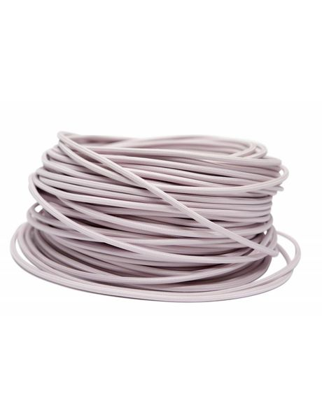 Light pink electrical cord, 2 core wire