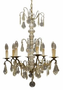 Chandelier, Antique, French Model