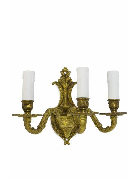 Klassieke wandlamp, kaarsen kroon
