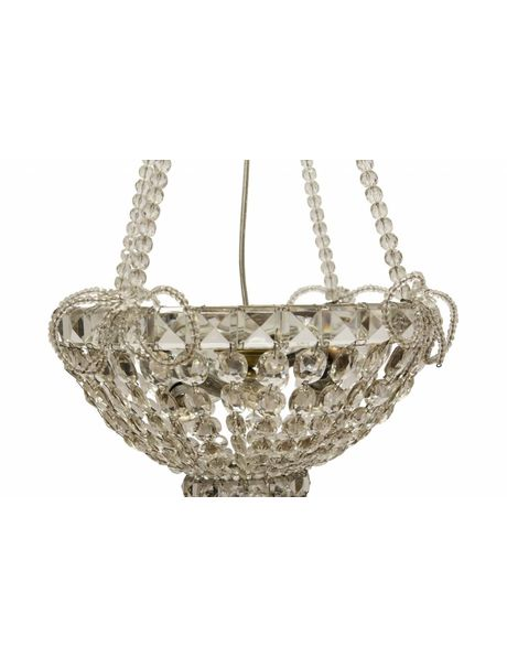 Crystal Pocket Chandelier, 1920s, Very Fine and Detailed