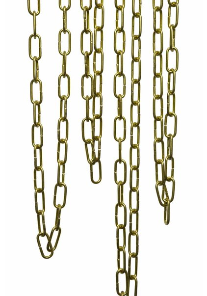 Lamp Chain, Brass