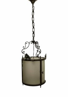 Antique Lantern, Completely Closed Shade, 1910s