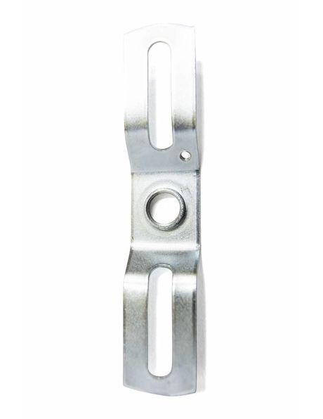 Metal suspension bracket for lamps