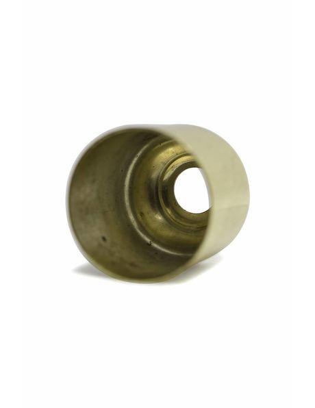 Goudkleurig afdekdopje, 3.2 cm hoog