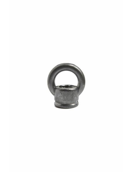 Hanging Loop for Lamp, Small, Grey, M10x1