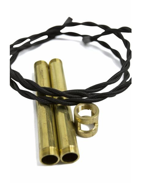 M13x1 koppelstuk met snoerdoorlating