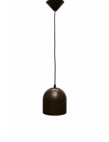 Design hanging lamp, 1960s, brown cylinder