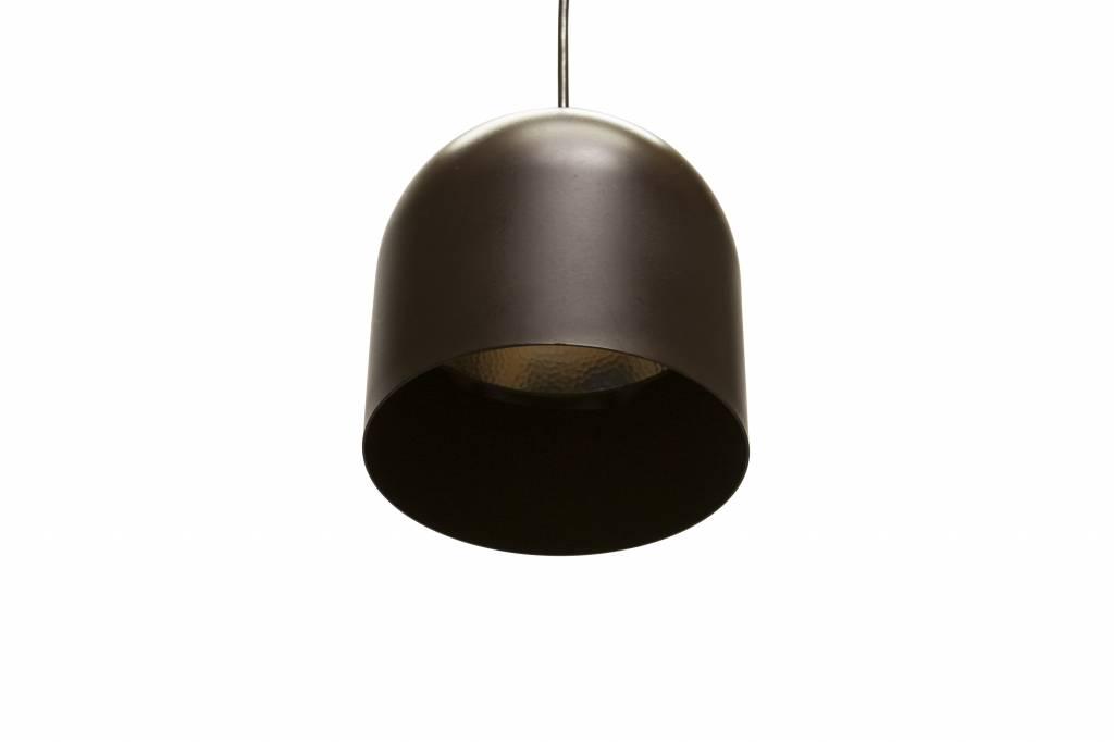 Fabulous Retro Hanglamp, jaren 60, Raak Design, Bruine Metalen Cilinder BS33