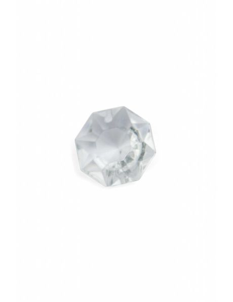 Kristalglazen kraal 1.8 cm met inwendige ster